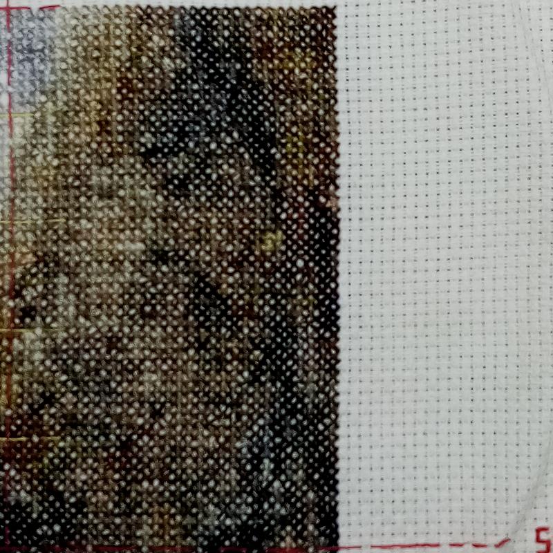 detail čtverce
